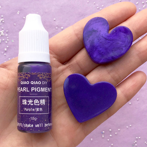 Shimmer Pearl Pigment | Resin Colorant | Resin Painting | Resin Dye | Resin  Color | Resin Art Supplies (Purple / 15 grams)
