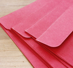 Red Envelopes | Invitation Card Making | Greeting Cards | Announcement | Letter | Wedding Supplies | Papercraft & Stationery (10pcs / 16cm x 11cm)