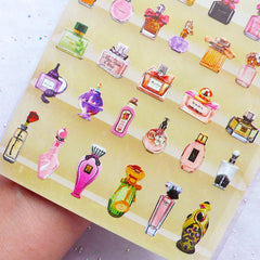 Perfume Bottle Stickers by Daisyland | Filofax Life Planner Stickers | Erin Condren Deco Sticker | Scrapbooking | Beauty Embellishments | Diary Notebook Stickers | Korean Stationery Supplies