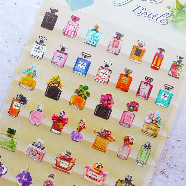 Perfume Bottle Stickers By Daisyland Filofax Life Planner Stickers