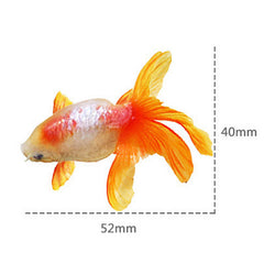 Resin Koi Pond Painting Sticker | 3D Resin Art Supplies | Three Dimensional Resin Goldfish Painting (1 Sheet)