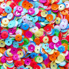 Colorful Cup Sequins in 7mm | Sewing Supplies | Resin Craft (500pcs / 5 grams) - MiniatureSweet