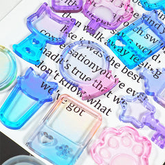 Baby Bottle Shaker Cabochon Silicone Mold | Kawaii Resin Shaker Making | Decoden Supplies | Phone Case Deco (32mm x 65mm)