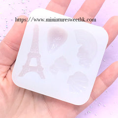 Translucent Liquid Mold Maker | Clear Mold Making | Make Your Own Silicone Mold for UV Resin | Soft Flexible Rubber Mold DIY (200ml)