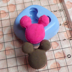 Mouse Shaped Bread Mold 15mm Silicone Flexible Mold Miniature Sweets Mold Resin Mold MD227