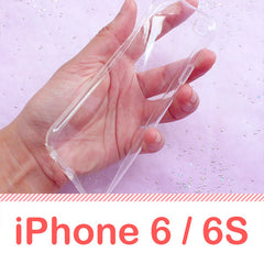 iPhone 6/6S Bendable Clear TPU Phone Case | iPhone 6 Accessories | Decoden Supply