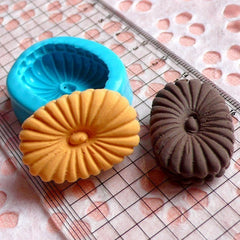 Flexible Silicone Mold Oval Cookie Mold Biscuit 30mm Kawaii Deco Sweets Food Mold Polymer Clay Fimo Jewelry Charms Cabochon Resin Mold MD766