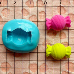 Bow Tie Candy (16mm) Silicone Flexible Push Mold - Miniature Food, Sweets, Jewelry, Charms (Clay, Fimo, Resins, Gum Paste, Fondant) MD345