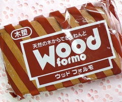 Paper Clay - Wooden Texture - Miniature Cookie Biscuit Sweets Food - Padico Wood Formo Clay from Japan (500g)