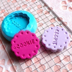 Silicone Mold Flexible Mold Cookie Biscuit Mold Flower 25mm Decoden Mold Kawaii Sweets Fimo Polymer Clay Food Cabochon Charms Resin MD134