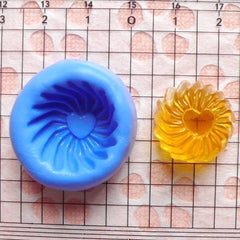 Jelly (18mm) Flexible Mold Silicone Mold - Miniature Food, Cupcake, Jewelry, Charms (Resin Paper Clay Fimo Soap Wax Gum Paste Fondant) MD374