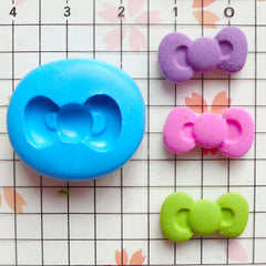 Bow Mold 17mm Flexible Silicone Mold Kawaii Cupcake Topper Cake Decoration Mold Mini Resin Mold Scrapbooking Mold Polymer Clay Charms MD742