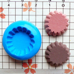 Cup cake / Tart Bottom (19mm) Silicone Flexible Push Mold - Miniature Food, Sweets, Jewelry, Charms (Clay, Fimo, Resins, Gum Paste) MD110