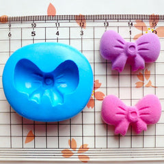Ribbon Mold Bow Mold 24mm Flexible Silicone Mold Mini Cupcake Topper Kawaii Supplies Cell Phone Deco Mold Polymer Clay Charms Resin MD824