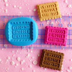Choice Biscuit Mold Cookie Mold 24mm Flexible Mold Silicone Mold Kawaii Cell Phone Deco Mold Sweets Charms Cabochon Polymer Clay Mold MD133
