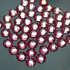 Swarovski SS16 (4mm) 2058 Swarovski Elements Rhinestones (Flat Back) 14 Faceted Cut Round Crystal (Light Pink 223) (50pcs) RH-SW004