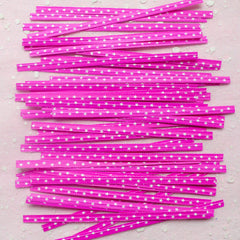 Star Twist Ties (Pink / 20pcs) Kawaii Gift Wrap Bag Wrapping Packaging Supplies Gift Bag Decoration Party Deco Twistties Twisties S133