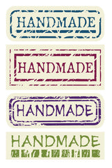 CLEARANCE Handmade Stickers (3 Sets / 24pcs) Scrapbooking Product Packaging Party Decoration Handmade Gift Wrap Diary Deco Collage Home Decor S157