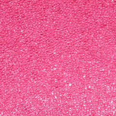 Micro Beads Fake Candy Sprinkles Faux Toppings Miniature Sugar Pearls (Clear Pink / 7g) Caviar Nail Art Mixed Media Embellishment SPK31