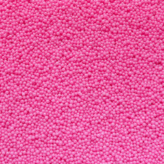 Fake Balls Dragees Miniature Cupcake Sugar Sprinkles Microbeads Dollhouse Candy Toppings (Shocking Pink / 7g) Kawaii Caviar Nail Art SPK33
