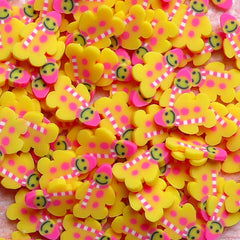 Polymer Clay Cane - Sweets - Gingerbread Man - for Miniature Food / Dessert / Cake / Ice Cream Sundae Decoration and Nail Art CSW046