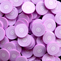 Polymer Clay Cane - Vegetable - Onion - for Miniature Food / Dessert / Cake / Ice Cream Sundae Decoration and Nail Art CFD03