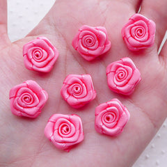 assorted sizes Awesome classic roses mini sizes for fabric embellishment and great add-on to any design