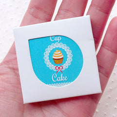 Cupcake Sticker / Bakery Dessert Sweets Sticker (38pcs) Seal Label Diary Deco Journal Decoration Planner Embellishment Scrapbooking S301