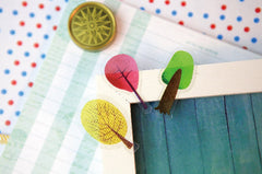 Tree Sticker / Transparent PVC Sticker (40-45pcs) Home Decor Journal Decoration Diary Planner Deco Nature Scrapbooking Card Making S299