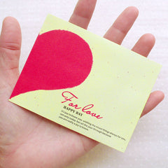 "Small Love Envelopes / Mini Valentine Day Envelope (10pcs / 9.7cm x 7.4cm / 3.81"" x 2.91"") Square Flap Envelope Wedding Invitation Card S330"