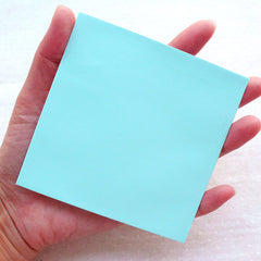 "Square Card Envelopes / Small Envelope (10pcs / 10cm x 10cm / 3.93"" x 3.93"" / Blue) Note Card Letter Announcement Invitation Supplies S438"