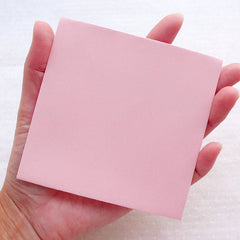 "Pink Square Envelopes / Small Wedding Envelope (10pcs / 10cm x 10cm / 3.93"" x 3.93"") Invitation Card Party Favor Etsy Shop Supplies S441"