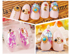 Translucent Glitter Flakes / Iridescent Shell Color Flakes / Irregular Confetti (AB Light Purple) Fairy Kei Nail Art Resin Craft SPK122