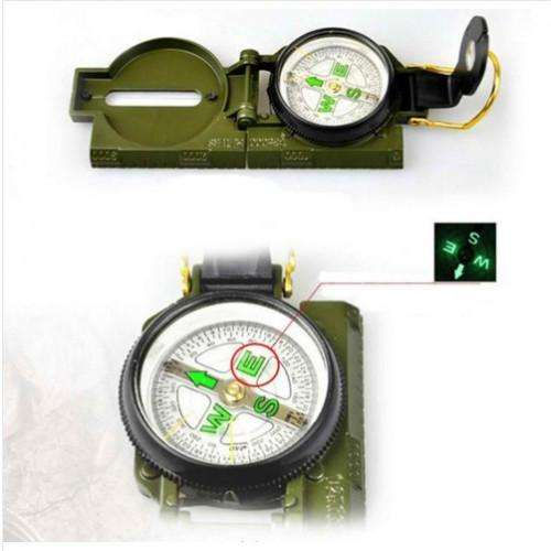 Camping Marching Lensatic Compass Magnifier - Survival-Net