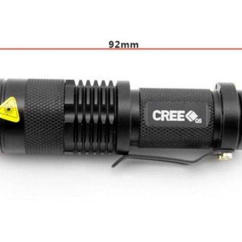 Mini Black Brand 2000LM Waterproof LED Flashlight - Survival-Net