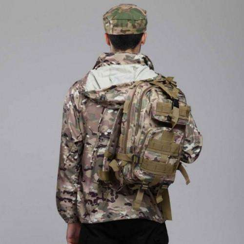 Raincoat Camo Hiking Waterproof Jacket - Survival-Net