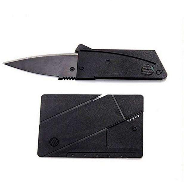 Credit Card Folding Knife Tool Mini Wallet - Survival-Net