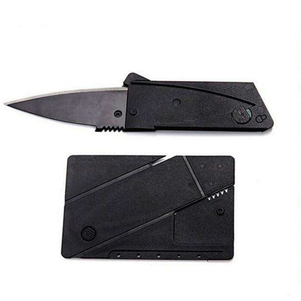 Credit Card Folding Knife Tool Mini Wallet