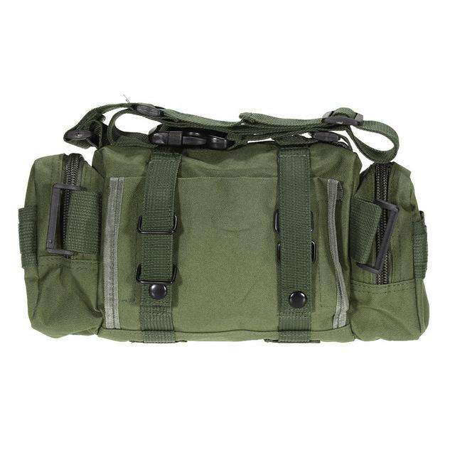 Waterproof Oxford fabric Climbing Bags Outdoor Military Tactical Waist Pack - Survival-Net