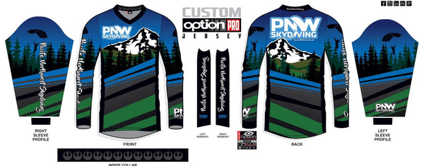 PNW Skydiving Jerseys