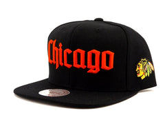 Mitchell and Ness Chicago Blackhawks Gothic City