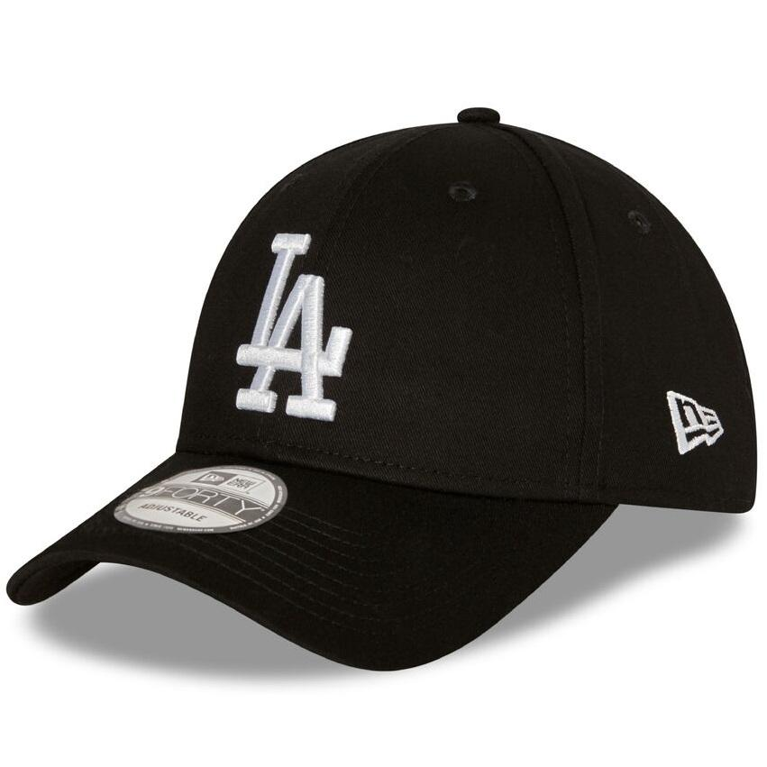New Era 940 Strapback LA Dodgers - Black / White