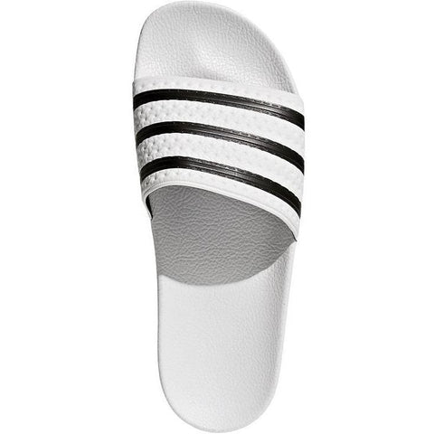 adidas Adilette Slides - White / Black