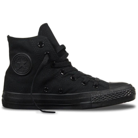 Converse Chuck Hi Black Monochrome - West Brothers