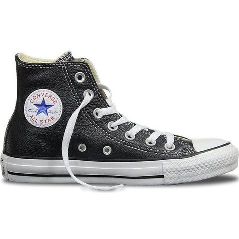 Converse Chuck Hi Leather Black / White