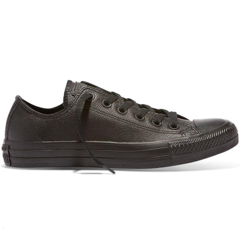 Converse All Star Low Leather - Black / Black