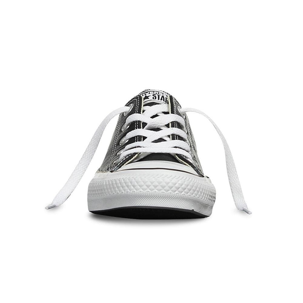 Converse All Star Low Leather - Black / White