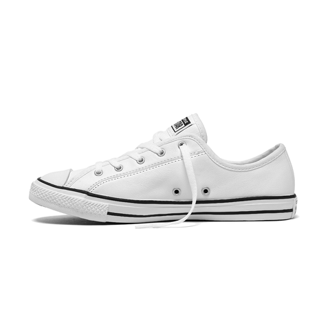 Converse Dainty Leather 2.0 - White / Black