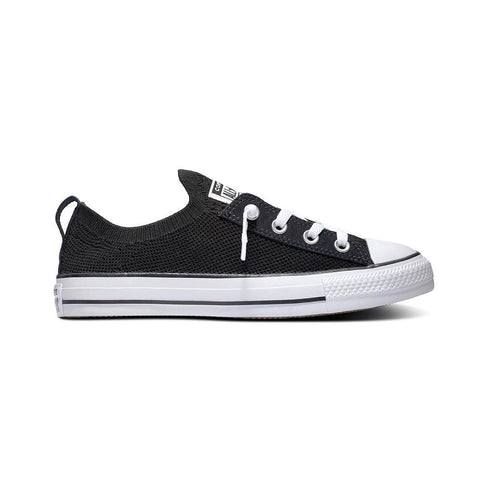 Converse Shoreline Knit Slip-On - Black / White