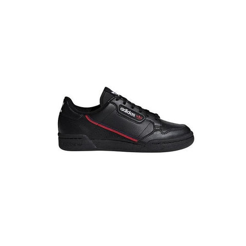 adidas Continental 80 Kids - Black / Scarlet / Navy